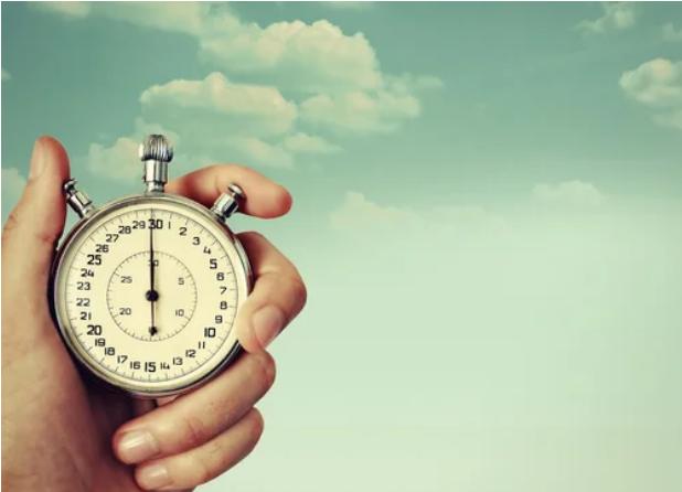 Saati ölçen saatli el
